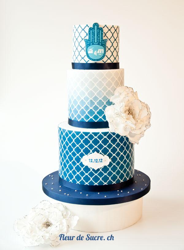 Feature Die 8 Besten Hochzeitstorten In Blauen Schattierungen