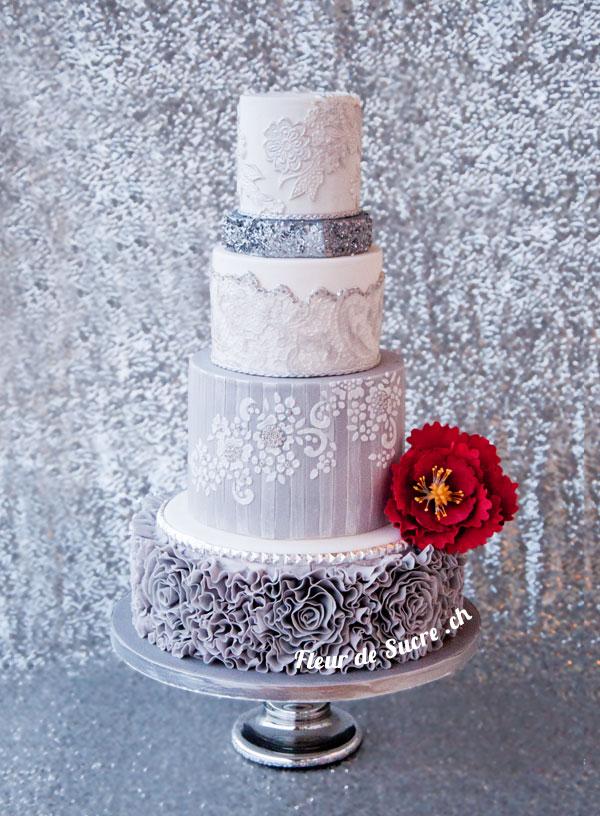 Hochzeitstorten Individuell Ausgefallen Exklusiv Fleur De Sucre
